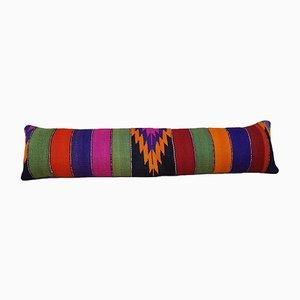 Housse de Coussin Kilim Queen Boho Multicolore de Vintage Pillow Store Contemporary