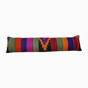 Multi Color Queen Boho Bedding Kilim Pillow Cover from Vintage Pillow Store Contemporary