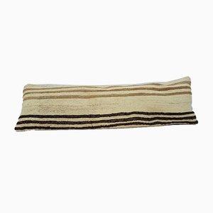 Federa Kilim bohemien in lana intrecciata a mano di Vintage Pillow Store Contemporary