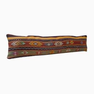 Federa Kilim lunga fatta a mano di Vintage Pillow Store Contemporary