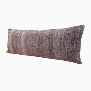 Housse de Coussin Kilim Tissé à la Main Grise de Vintage Pillow Store Contemporary