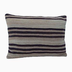 Gewebter lumbaler Kelim Kissenbezug von Vintage Pillow Store Contemporary