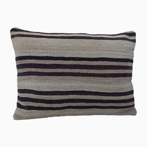 Outdoor Woven Kilim Lumbar Pillow Cover from Vintage Pillow Store Contemporary