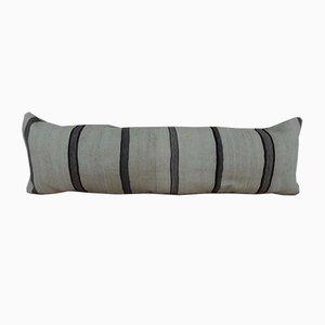 Funda de cojín grande hecha con kilim de lana hecho a mano de Vintage Pillow Store Contemporary