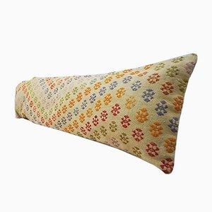 Langer Kelim Nackenkissenbezug von Vintage Pillow Store Contemporary