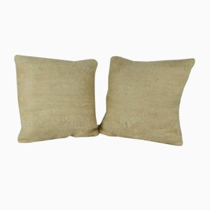 Small Cushion Covers from Vintage Pillow Store Contemporary, Set of 2