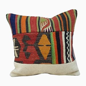 Decorative Patchwork Pillow Cover from Vintage Pillow Store Contemporary