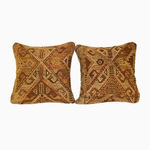Housses de Coussins Kilim Tissées à la Main de Vintage Pillow Store Contemporary, Set de 2