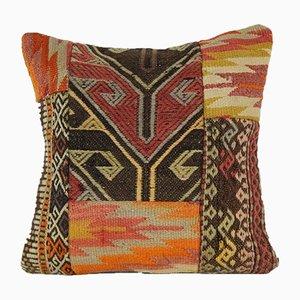 Housse de Coussin Patchwork Kilim de Vintage Pillow Store Contemporary