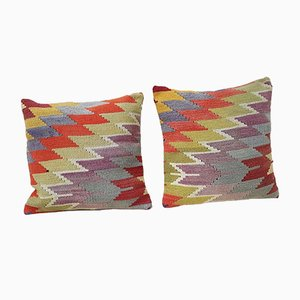 Fundas para almohadas hechas con Kilim de Vintage Pillow Store Contemporary. Juego de 2