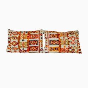Fundas de cojín hechas con kilim turco de Vintage Pillow Store Contemporary. Juego de 2