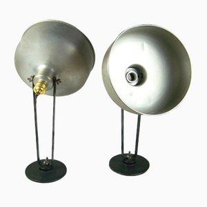 Lampade fotografiche, anni '10, set di 2