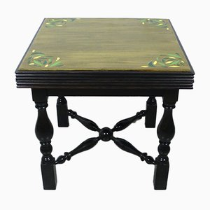 Small Vintage Hand Painted Coffee Table