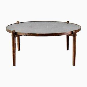 Table Basse E8 en Aluminium et Bois par Heinz Lilienthal, 1960s