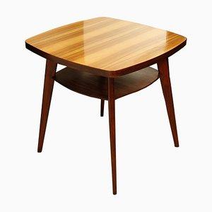 Table Basse Tchécoslovaque à 2 Niveaux Modèle 14-26-4 en Teck de Mier Topolcany, 1960s