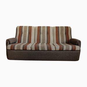 Vintage Sofa aus Stahlrohr & Tweed, 1970er