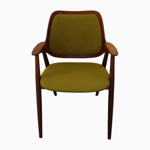Teak & Wool Chair, 1960s
