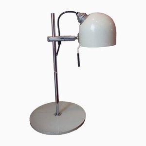 Lampe de Bureau Vintage en Fer et Laque, 1970s