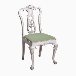 Antike skandinavische Esszimmerstühle aus Holz, 10er Set