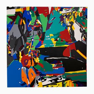 Leinengemälde von Luis Salazar, 2004