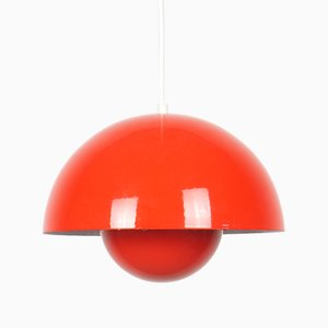 Scandinavian Flowerpot Pendant Lamp by Verner Panton for Louis Poulsen, 1960s