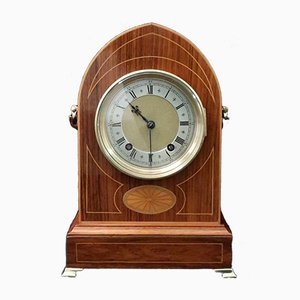 Antike Uhr mit Gehäuse aus Palisander von Winterhalder & Hofmeier