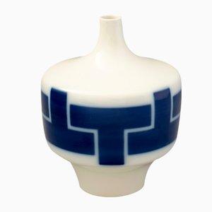 Jarrón alemán de porcelana de Hubert Griemert para KPM, años 60