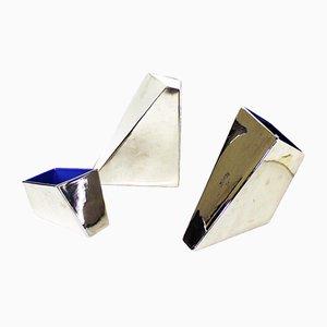 Postmoderne italienische Keramikvasen von Driade, 1980er, 3er Set