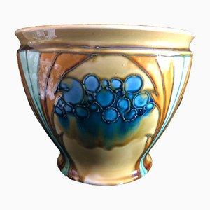 Vaso da fiori Art Nouveau antico di Minton