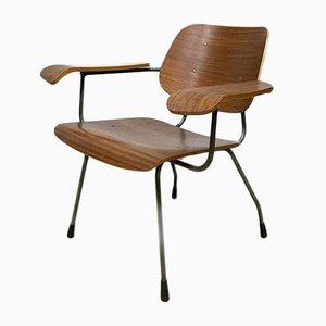 Vintage Armlehnstuhl aus Schichtholz von Tjerk Reijenga für Pilastro