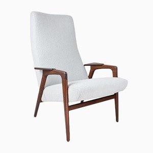 Moderner skandinavischer Sessel in Grau von Yngve Ekstrom für Pastoe
