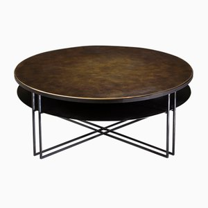 Table Basse Ronde Binate par Richy Almond pour NOVOCASTRIAN