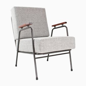 Mid-Century Grey Easy Chair by Koene Oberman for De Ster Gelderland