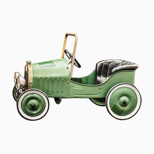 Mid-Century French Green Toy Car, 1960s