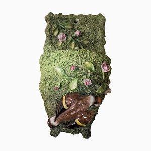 Kleiner antiker Pflanzer von Meissen Porzellan