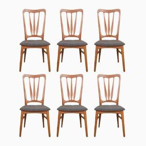 Ingrid Teak Dining Chairs by Niels Koefoed for Koefoeds Hornslet, 1960s, Set of 6