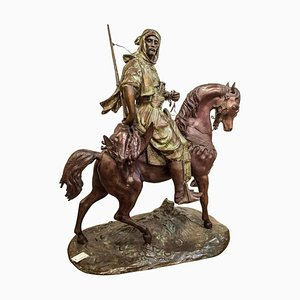 19th Century French Brown Bronze Sculpture by Alfred Barye
