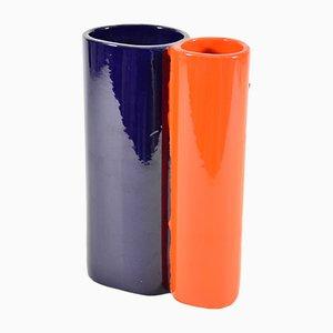 Italian Ceramic Vase from Ceramiche Cermac, 1970s