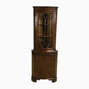 Mueble esquinero de caoba, años 70