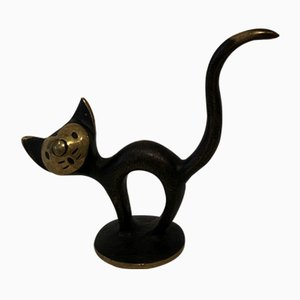 Cat Figurine by Walter Bosse for Herta Baller, 1950s