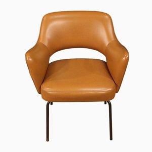 Italienischer Sessel aus Kunstleder von Mobiltecnica Torino, 1980er