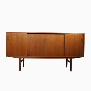 Vintage Danish Teak & Rosewood Sideboard from P. Westergaard, 1960s