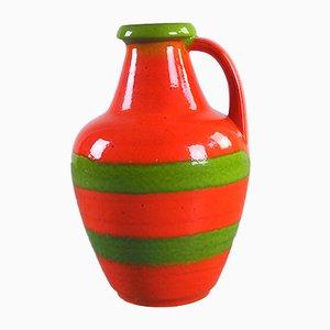 Große deutsche Vintage Vase von Bay Keramik, 1960er
