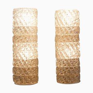 Italian Murano Glass Sconces, 1960s, Set of 2