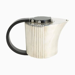 Rosewood & Silver Coffee Pot by Jean Puiforcat, 1920s