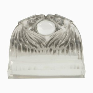 Antique Deux Aigles Paperweight by René Lalique