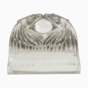 Fermacarte Deux Aigles antica di René Lalique