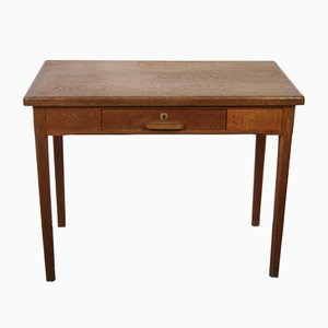 Rustic Wood Desk, 1960s