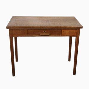 Schreibtisch aus rustikalem Holz, 1960er