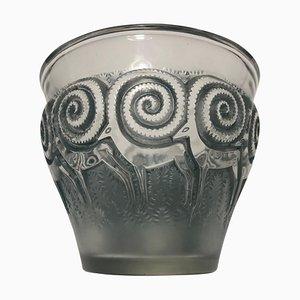 Vase Rennes par René Lalique, 1930s